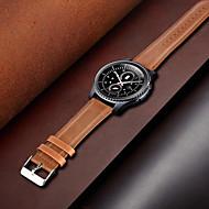 cheap -Watch Band Fossil Gen 3 Q Explorist / Man's Gen3 Sport FOSSIL Leather Loop Genuine Leather Wrist 22MM Universal Strap