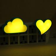 Недорогие -1шт LED Night Light / Настенный светильник / Умный ночной свет DC Powered Для детей / Мультипликация <5 V