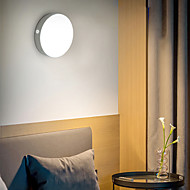 ieftine -BRELONG® 1 buc Lumină de noapte Alb cald + alb USD Reîncărcabil / Ușor de Purtat / Senzor organism corporal 5 V