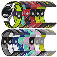cheap -Sport Silicone Watch Band Wrist Strap for Fossil Gen 4 Q Venture HR / Gen 3 Q Venture / Huawei S1 / Huawei Watch / Huawei Fit Huawei B5 Smart Watch Bracelet Wristband Replaceable Accessories