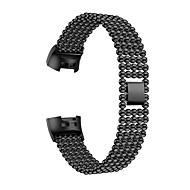 ieftine -Uita-Band pentru Fitbit Charge 3 Fitbit Design Bijuterie Oțel inoxidabil Curea de Încheietură