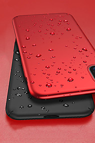 cheap -Case For Apple iPhone XR / iPhone XS Max Shockproof / Ultra-thin / Frosted Full Body Cases Solid Colored Hard PC for iPhone XS / iPhone XR / iPhone XS Max