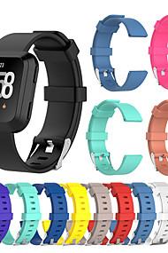 levne -Watch kapela pro Fitbit Versa Fitbit Sportovní značka Silikon Poutko na zápěstí