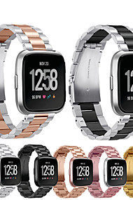 levne -Watch kapela pro Fitbit Versa Fitbit Klasická spona Nerez Poutko na zápěstí