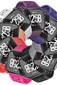 levne -Watch kapela pro Fitbit Versa / Fitbit Versa Lite Fitbit Sportovní značka Silikon Poutko na zápěstí