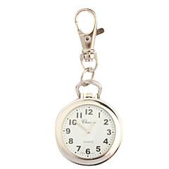 여성용 패션 시계 옷깃 시계 키체인 시계 석영 / 합금 밴드 빈티지 실버