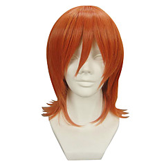 Peruki Cosplay One Piece Nami Oranžová Short Anime Peruki Cosplay 32 CM Włókno termoodporne Damskie
