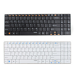 RAPOO e9070 usb inalámbrico ultra delgado de 99 teclas del teclado (varios colores)