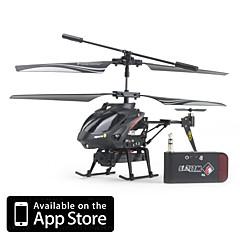 abordables Promoción PayPal-Helicóptero iCam con Cámara de 0.3 Megapíxel para iPhone, iPad y Android (Negro)