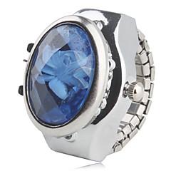 preiswerte Damenuhren-Damen Ringuhr Armbanduhren für den Alltag Legierung Band Blume / Glanz / Modisch Silber / Ein Jahr / SSUO SR626SW