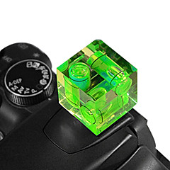 triple-as hot shoe waterpas gradienter voor dslr-camera