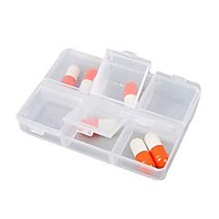 billige -Pilleboks/etui til rejsebrug Rektangulært Bærbar for Rejsenødhjælp