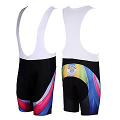 Kooplus Bermudas Bretelle Homens Moto Calções Bibes Shorts Calças Secagem Rápida Respirável Poliéster Retalhos Primavera Verão