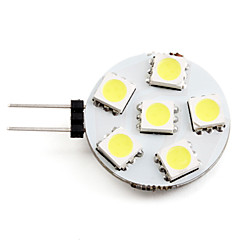 2W G4 LED Spotlight 6 SMD 5050 150lm Natural White 2700K DC 12V
