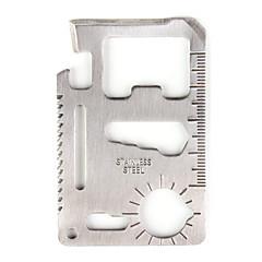 abordables Herramientas y Aparatos de Coche-navaja multifuncional (filo de cuchillo / destornillador / regla / tornillo de la llave / otros)