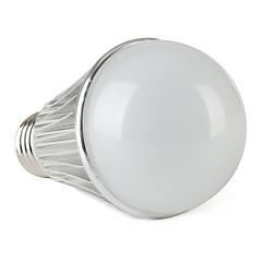 お買い得  LED 電球-630 lm E26 / E27 LEDボール型電球 G60 7 LEDビーズ ナチュラルホワイト