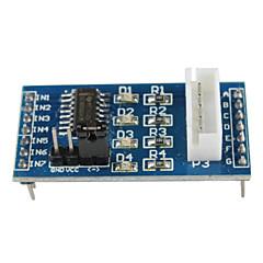 お買い得  アクセサリー-uln2003 5線式4相ステッピングモータドライバモジュール - 青色