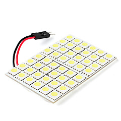 cheap LED Car Bulbs-5050 SMD 48-LED White Light Bulb for Car (DC 12V)