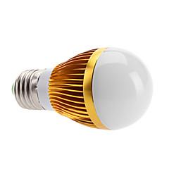 cheap LED Bulbs-3000lm E26 / E27 LED Globe Bulbs 3 LED Beads High Power LED Warm White 100-240V