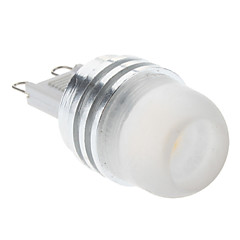 2W G9 LED Spotlight 1 High Power LED 160-210lm Warm White Cold White 3000K DC 12V