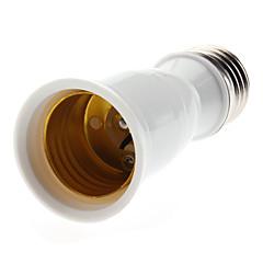E27 ja E27 LED-lamput hylsyadapteri