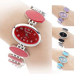 Mulheres Relógio de Moda Bracele Relógio Quartzo Banda Elegant Preta Branco Vermelho Rosa Roxa