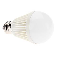 olcso LED izzók-7 W 6000 lm E26/E27 LED gömbbúrás izzók A60(A19) 7 led Nagyteljesítményű LED Természetes fehér AC 100-240V