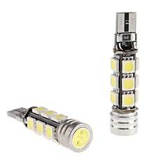 CANBUS T10 1.5W 12x5050 SMD LED Bombilla Blanca para Coche Lectura / Side Marker / Dashboard Light (12V, 2-Pack)