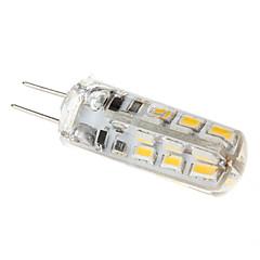 abordables LED e Iluminación-1.5w g4 luces de maíz led t 24 110-130lm blanco cálido 3000k dc 12v