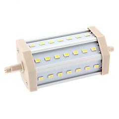 billige Udendørsbelysning-10W 6000 lm R7S LED-kolbepærer T 21 leds SMD 5630 Naturlig hvid AC 85-265V