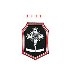 Bijuterii / Insignă Inspirat de D.Gray-man Allen Walker Anime Accesorii Cosplay Insignă Alb / Negru / Roșu Poliester Bărbătesc