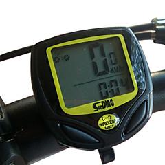 Compteur vélo SunDing Plastique d'ingénierie sans fil 15 Fonctions Etanche Computer vélo 548C1 (Noir)