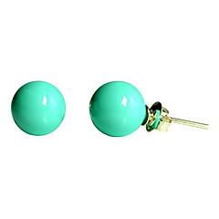 お買い得  イヤリング-画像参照 画像参照 真珠 ドロップイヤリング  -  真珠, ターコイズ クラシック 用途 パーティー