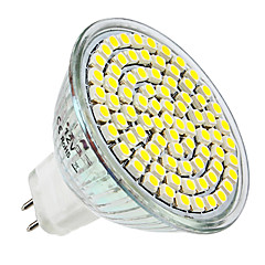 cheap LED Bulbs-4W E14 GU10 GU5.3(MR16) E26/E27 LED Spotlight MR16 80 SMD 3528 300-350lm Warm White Natural White 6000K DC 12 AC 220-240V