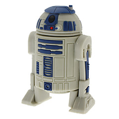 voordelige USB-sticks-8gb R2-D2 robot high-speed usb 2.0 flash pen drive grijs