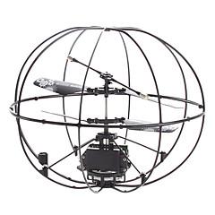 abordables Promoción PayPal-2 canales miniUFO forma de helicóptero de control remoto
