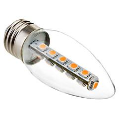E26/E27 Ampoules Bougies LED C35 16 SMD 5050 180 lm Blanc Chaud 2800K K Décorative AC 100-240 V