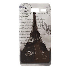 Eiffel-torni Pattern Hard Case Moto Razr I XT890