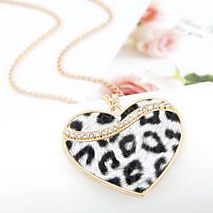 preiswerte Halsketten-Damen Anhängerketten - Herz, Liebe Klassisch, Europäisch Weiß, Kaffee Modische Halsketten Für Alltag