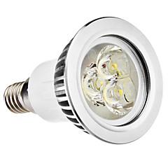 e14 gu10 led spotlight mr16 3 puissance élevée led 250lm blanc chaud naturel blanc 6500k ac 100-240v