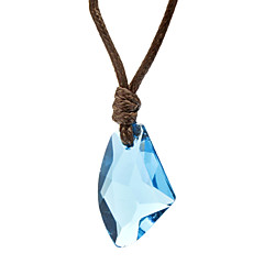 Dame Halskædevedhæng Krystal Krystal Stof Mode kostume smykker Smykker Til Daglig