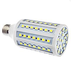 halpa LED-lamput-15w e26 / e27 led maissi valot 86 smd 5050 550-580lm luonnonvalkoinen 6500k ac 110-130 ac 220-240v