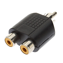 RCA Male to 2xRCA Female Adapter