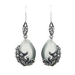 preiswerte Ohrringe-Damen Synthetischer Opal Katzenauge Chrysoberyl Tropfen-Ohrringe - Opal Tropfen Europäisch, Modisch Für Party Alltag