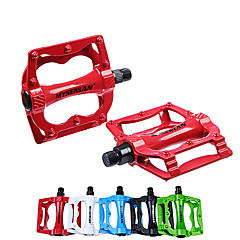 abordables Pedales-Pedales Ciclismo / Bicicleta / Bicicleta de Montaña / Bicicleta de Pista Aleación de aluminio Rojo / Verde / Azul