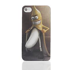 Жесткий чехол для iPhone 4/4S с принтом банана