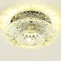 3W Hedendaags Kristal / LED / Ministijl Op plafond bevestigdWoonkamer / Slaapkamer / Eetkamer / Keuken / Badkamer / Studeerkamer/Kantoor