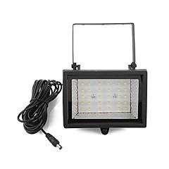 abordables LED e Iluminación-Solar Power Bright 30 LED de luz blanca Garden punto de la inundación luz del césped fresco blanco de la lámpara Ultra (CIS-57129)