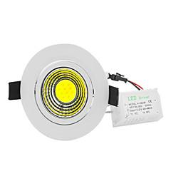 Ywxlight® 5w led spotlight cob 500-700 lm warm wit koud wit decoratief