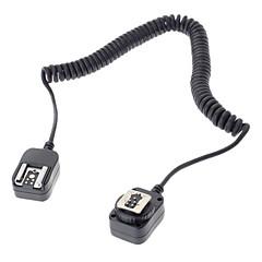 580EX linterna flash 430EX cable de conexión para la Canon EOS 5d 6d 7d iii 70d 60d 700d 650D cámara réflex digital - negro (360cm)